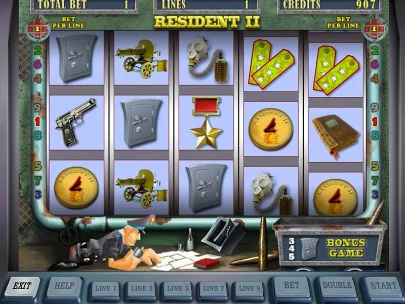 Resident – the best Video Slot with 5 reels