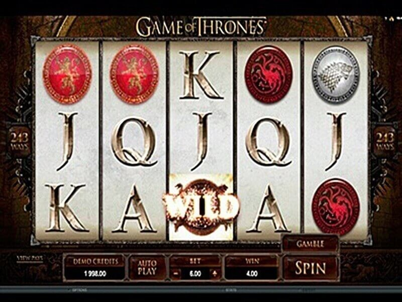 Game Of Thrones – the best Video Slot with 5 reels