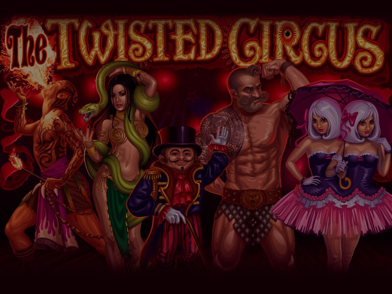 The Twisted Circus – the best Video Slot with 5 reels