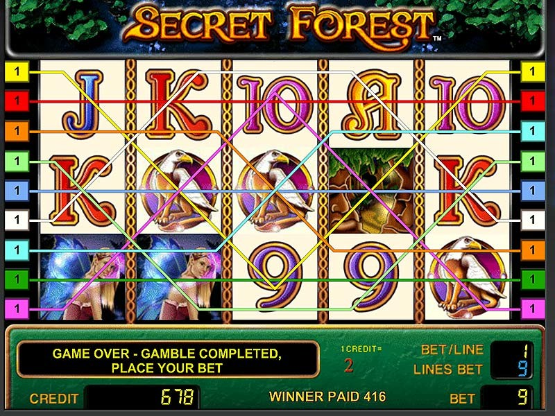 Secret Forest – the best Video Slot with 5 reels