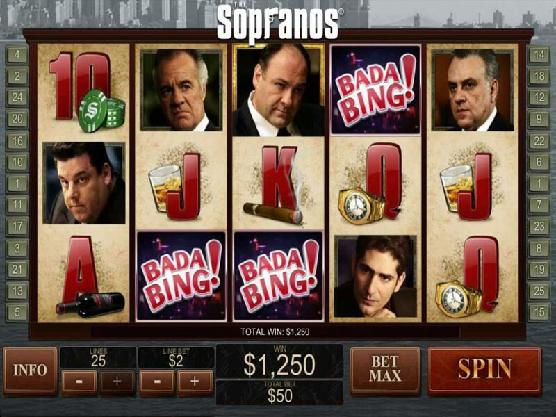 Sopranos – the best Video Slot with 5 reels