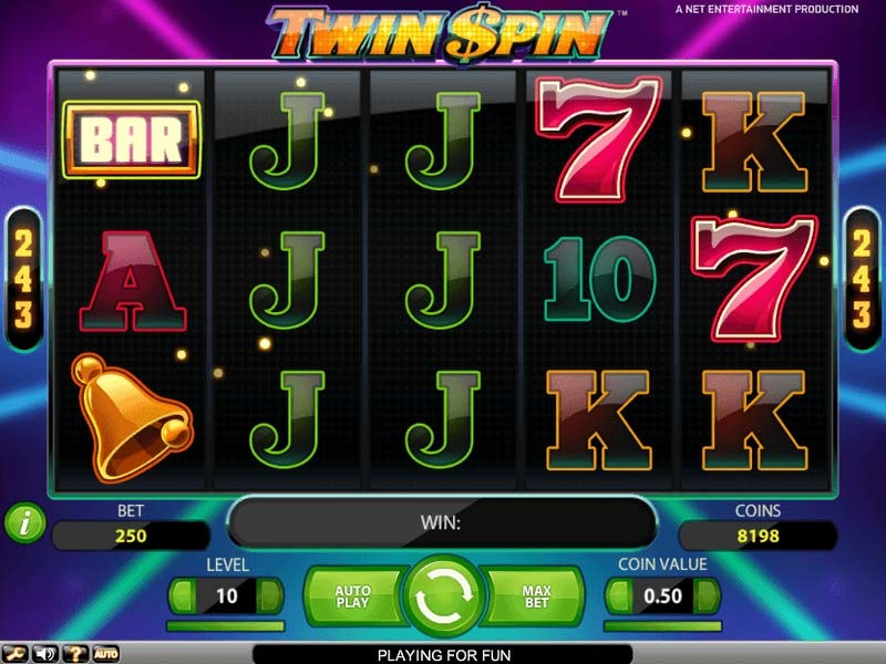 Twin Spin – the best Video Slot with 5 reels