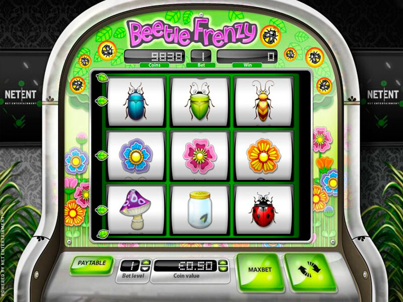 Beetle Frenzy – the best Classic Slot with 9 reels
